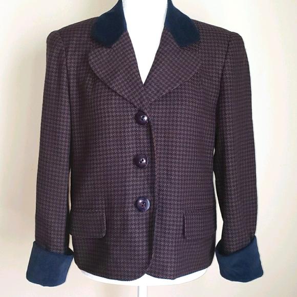Vintage Christian Dior Women's Jacket Blazer